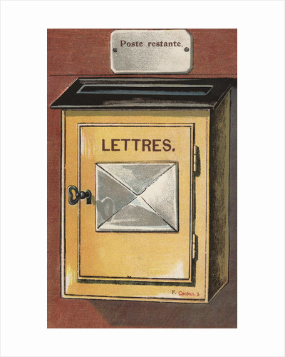 Illustration of Mailbox by Corbis