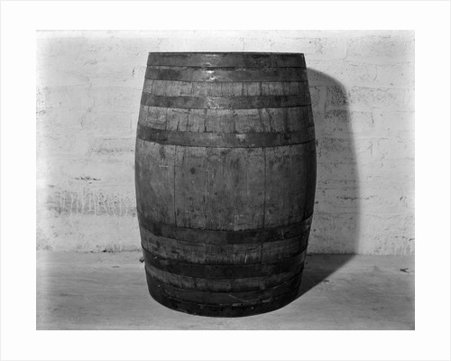 1930s 1933 Single Wooden Whisky Barrel by Corbis
