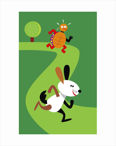 tortoise and the hare by Corbis