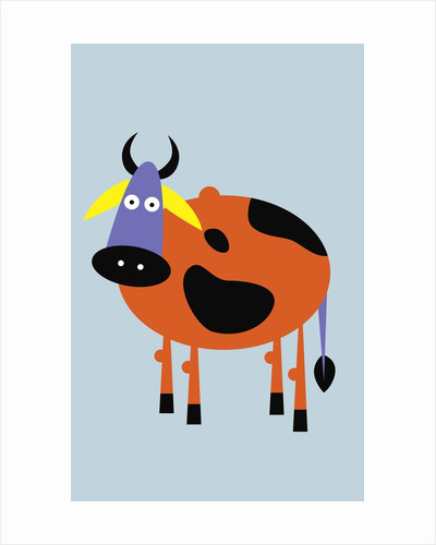 brown and black cow by Corbis