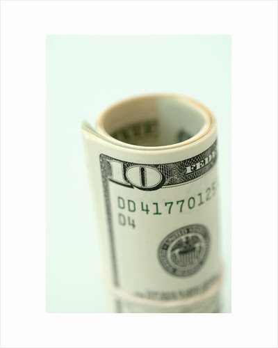 Roll of Cash by Corbis