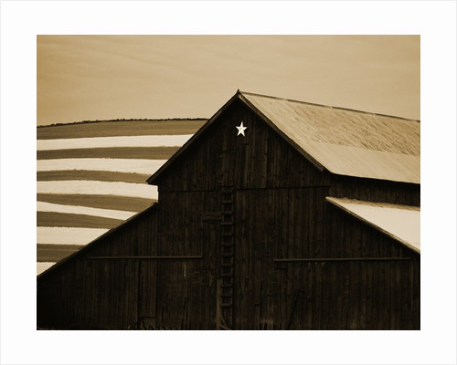 Old Barn with Star by Tom Marks