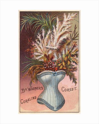 Dr. Warner's Coraline Corset Trade Card by Corbis