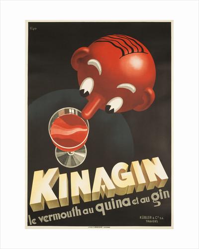 Kinagin Poster by E. Patke