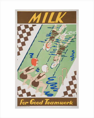 Milk for Good Teamwork Poster by Corbis