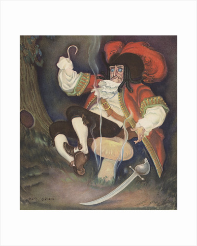 Illustration of Captain Hook by Roy Best