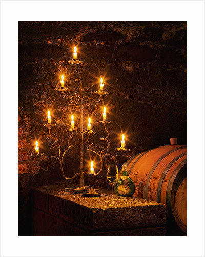Wine Cellar in Bavarian Castle by Corbis