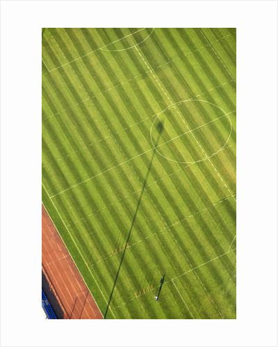 Soccer field by Corbis
