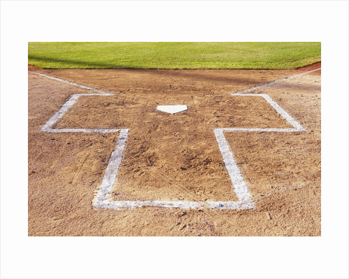 Batter's box by Corbis