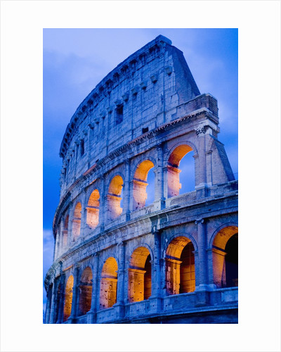 Colosseum at Dusk by Corbis