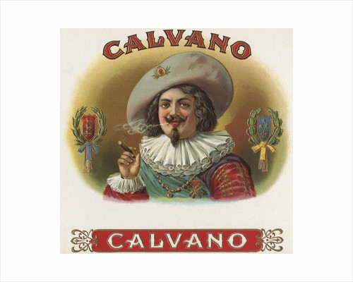 Calvano Cigar Box Label by Corbis