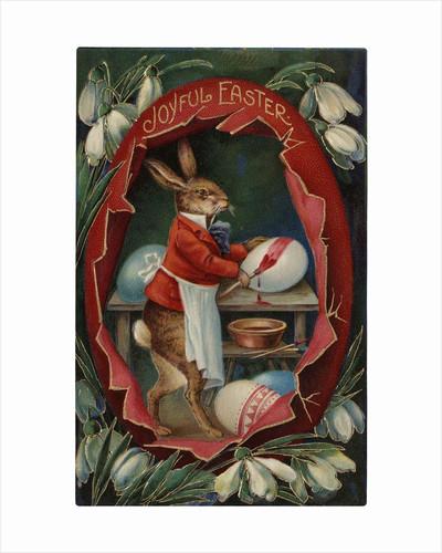 Joyful Easter Postcard by Corbis