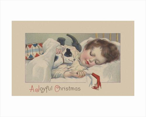 A Joyful Christmas Postcard by Corbis