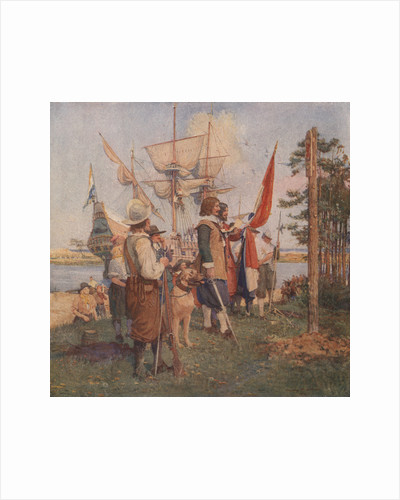 The Settlement of the Dutch by Stanley Arthurs