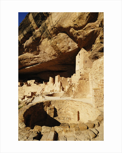 Kiva at Cliff Palace in Mesa Verde National Park by Corbis