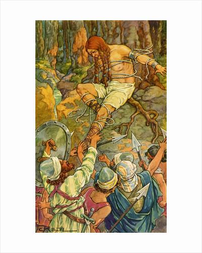 Samson Breaking His Bonds by Clara M. Burd