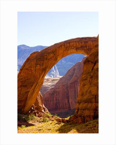 Rainbow Bridge Arch by Corbis