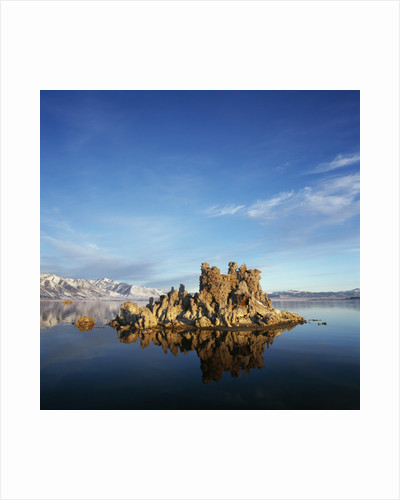 Rock Formations in Mono Lake by Corbis
