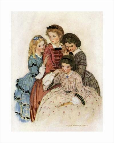 Meg, Jo, Beth and Amy by Jessie Willcox Smith