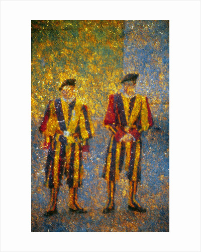 Vatican's Guards by Andre Burian