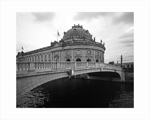 Monbijou Bridge Spanning the Spree River by Corbis