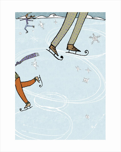 Ice Skating Rink by Corbis