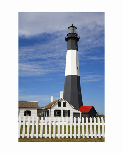 Tybee Island Lighthouse in Savannah by Corbis