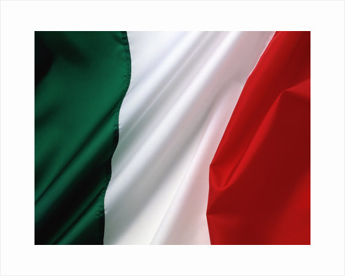Italian flag by Corbis