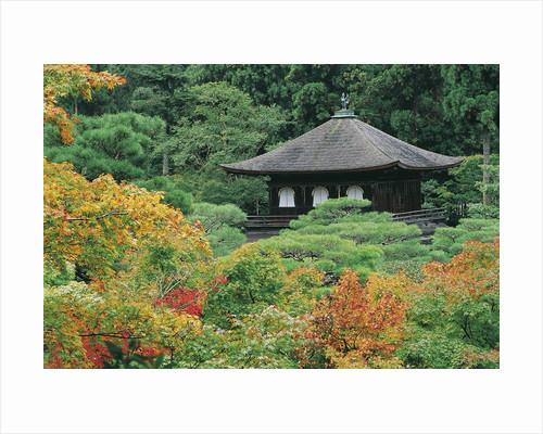 Jisho Temple- Silver Pavilion by Corbis