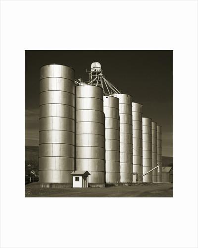 Silver Grain Elevators by Tom Marks