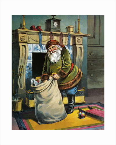 He Looked Like a Peddler Just Opening His Pack by William Roger Snow
