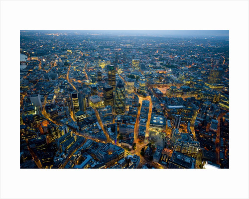 Aerial View of City of London by Corbis