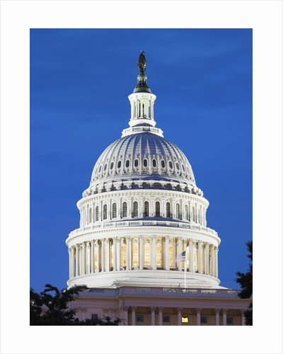 U.S. Capitol dome by Corbis
