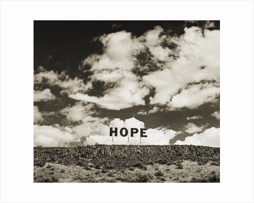 Hope Sign by Tom Marks