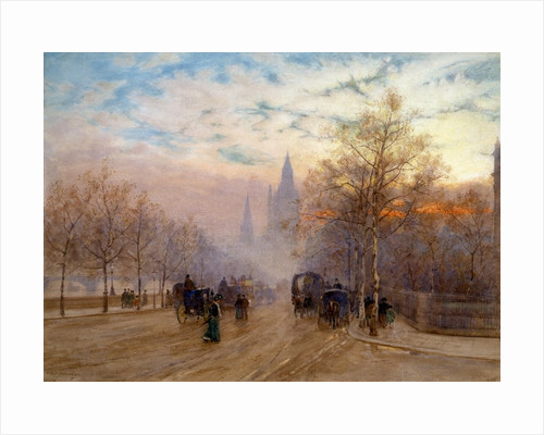 A View of Westminster, London, England by Herbert Menzies Marshall