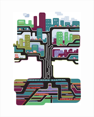 Urban Transportation by Corbis