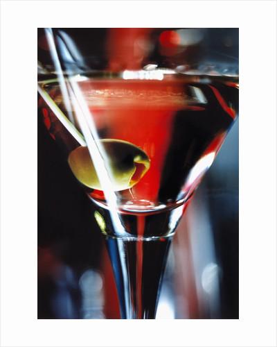 Dry martini by Corbis