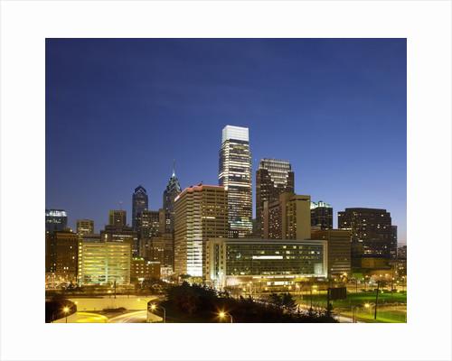 Philadelphia skyline by Corbis