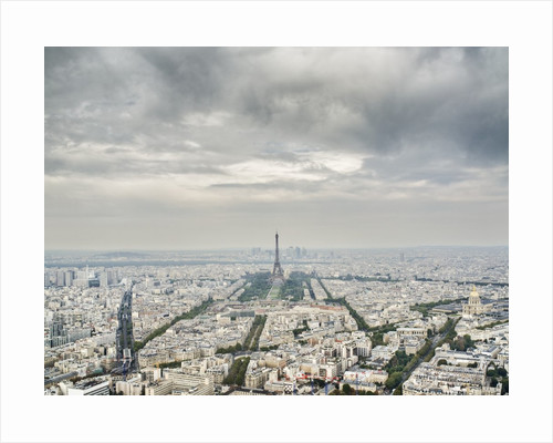 Paris skyline with the Eiffel Tower by Corbis
