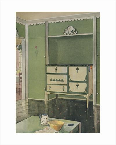 Old-fashioned kitchen by Corbis