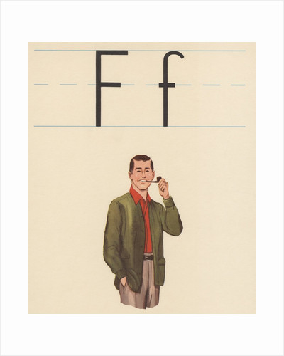 F is for father by Corbis