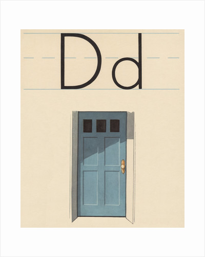 D is for door by Corbis