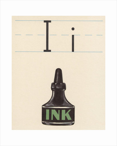 I is for ink by Corbis