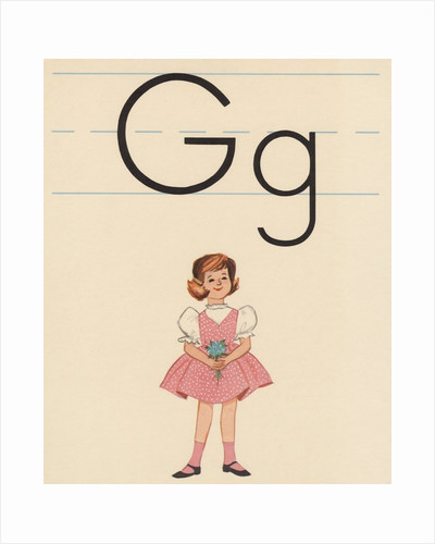 G is for girl by Corbis