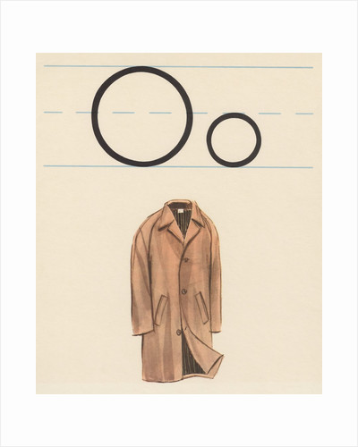 O is for overcoat by Corbis