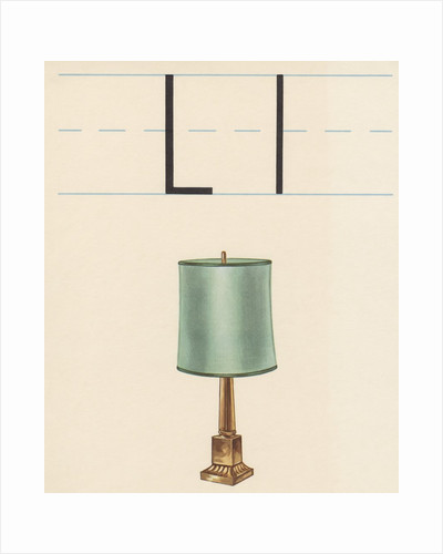 L is for lamp by Corbis
