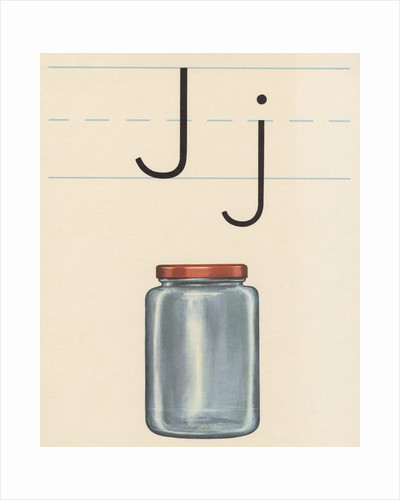 J is for jar by Corbis