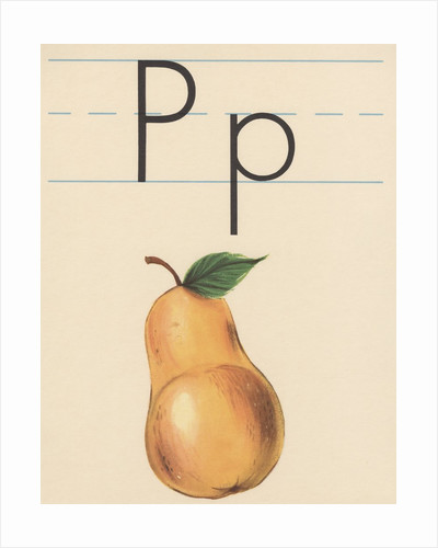P is for pear by Corbis