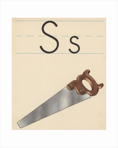 S is for saw by Corbis