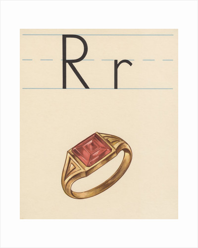 R is for ring by Corbis